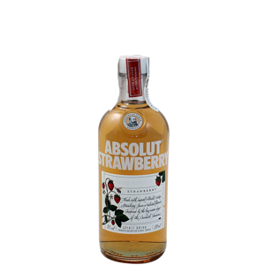 Picture of VODKA ABSOLUT STRAWBERRY 50 CL