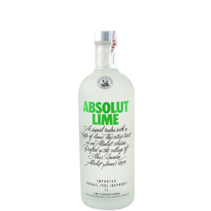 Picture of VODKA ABSOLUT LIME 1 L